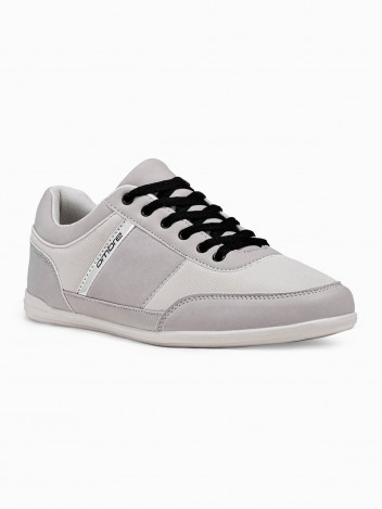 Ombre Clothing Muške casual tenisice rivers siva