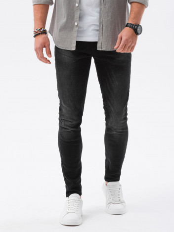 Ombre Clothing Muške jeans hlače Louise crna