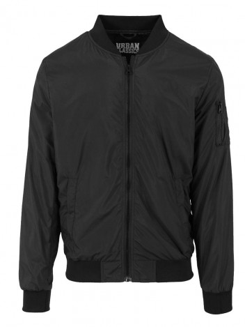Mens Bomber Jacket Lebrone Black S