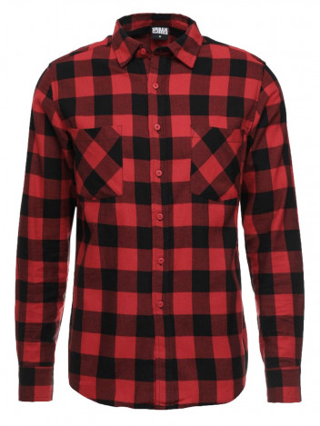 Mens Flanell Shirt Axe Red S