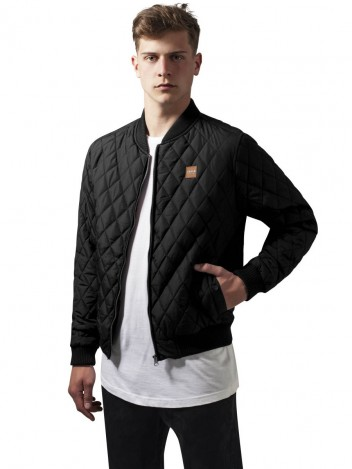 Mens Bomber Jacket Hammer Black S